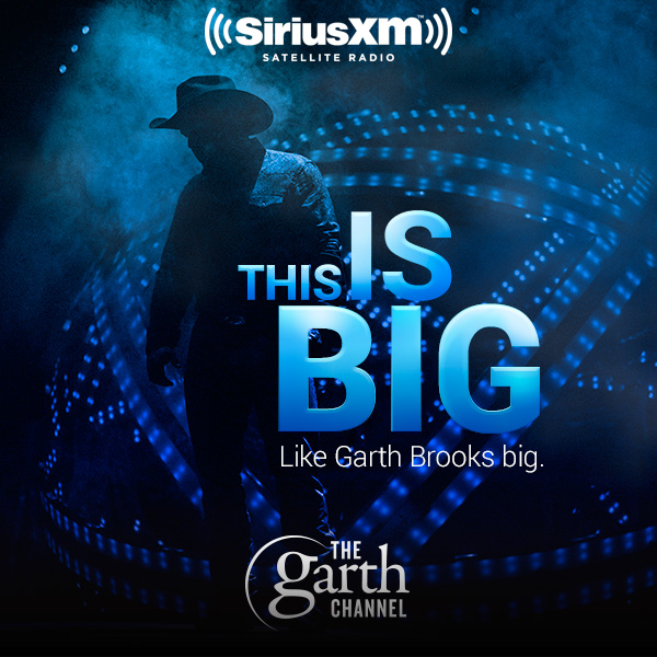 The Garth Brooks Channel is coming to SiriusXM this